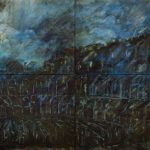 Blue City. 1. 200x390 cm. 2002