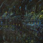 Blue City. 2. 200x390 cm. 2002