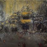 The Hidden City. 1. 195x360 cm. 2000