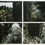 Fra skyggernes land. 420x600 cm. 1996