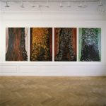 Sequoia. Each 195x130 cm. 1988